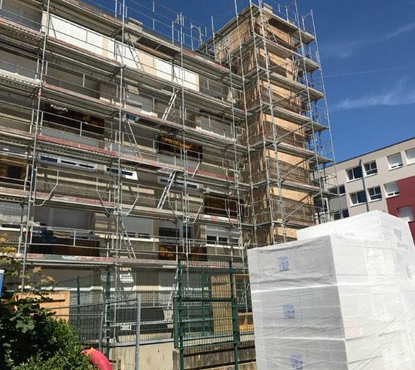 Ravalement de façade en imperméabilité à Annemasse, Chambéry