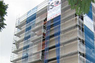 Reprise d'enduits, de joints de façade et imperméabilité des sols et des murs